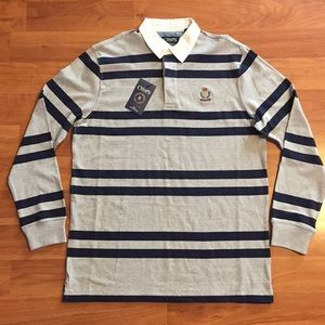 Chaps Heritage Rugby Stripe Polo